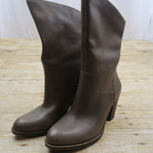 0dfb85a679e Lucky Brand Brown Leather Boots 8M  38